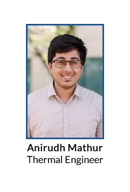 Anirudh Mathur<br>Thermal Engineer